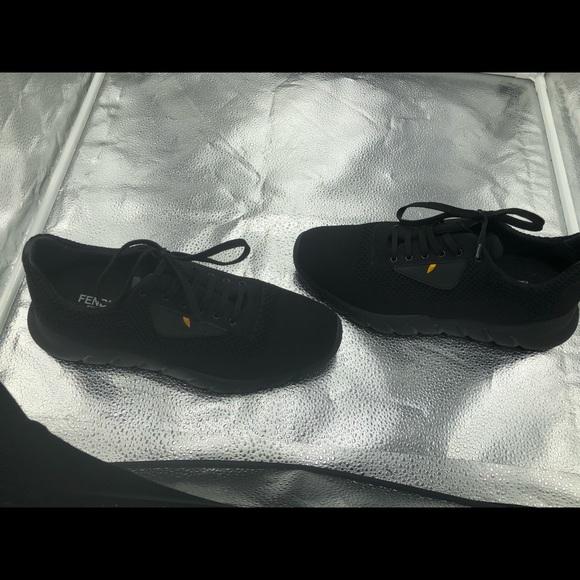 d1f869ec39 Fendi Other - Fendi Black Knit  Bag Bugs  Sneakers